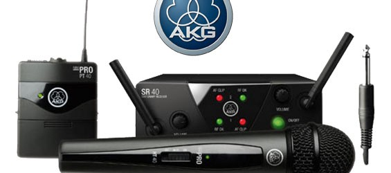 Sistem Microphone Wireless AKG WMS40 Mini2