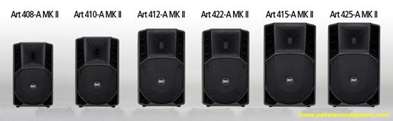 Active Speaker RCF Seri Art 4 MKII
