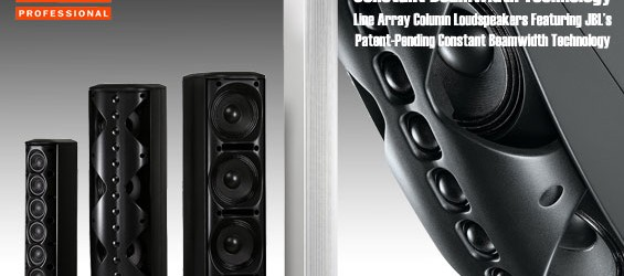 JBL CBT Series : Line Array Column Loudspeaker's