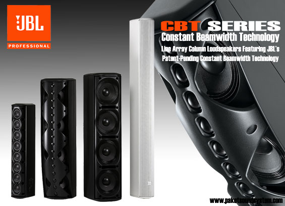 JBL CBT Series : Line Array Column Loudspeaker's