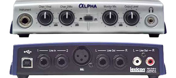 Lexicon Alpha Studio USB Soundcard