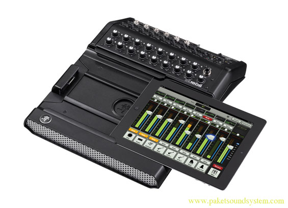 Mackie DL1608 Mixer Wireless Digital 16 Channel