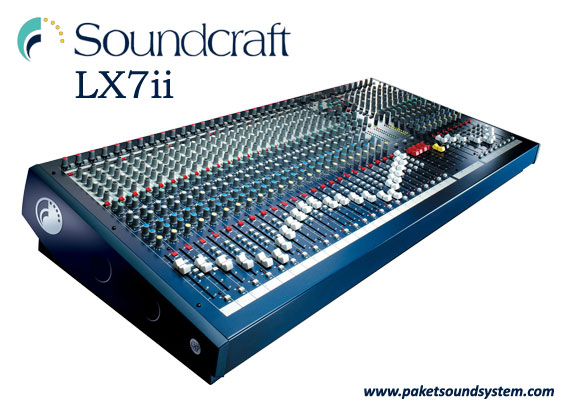 Mixer Audio Soundcraft LX7ii Series