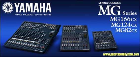 Audio Mixer Yamaha Seri MG ( Model CX )