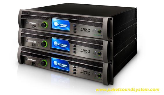 Power Amplifier Multichannel Crown I-Tech 4x3500HD