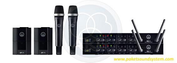 AKG DMS70 Digital Wireless Microphone System