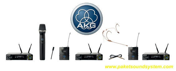 Sistem Microphone Wireless AKG WMS 4500