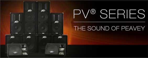 Sistem Speaker Aktif Peavey PV Series