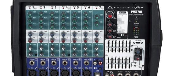 Power Mixer Wharfedale PMX710