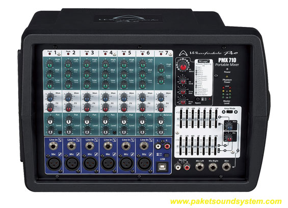 Power Mixer Wharfedale PMX710