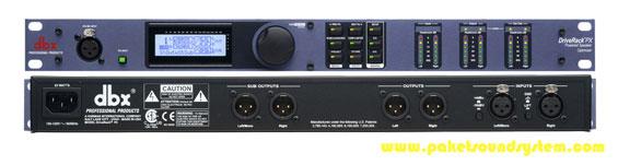 Prosesor Speaker Aktif DBX DriveRack PX