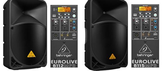 Speaker Aktif PA Behringer Eurolive B115MP3 & B112MP3