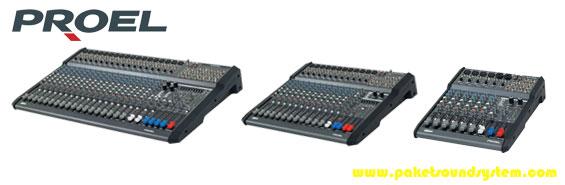 Audio Mixer Proel Seri M