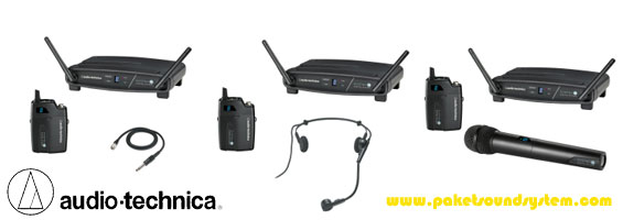 Digital Wireless Microphone Audio Technica System 10