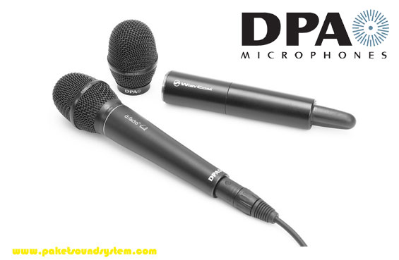 System Microphone Professional DPA d:facto II