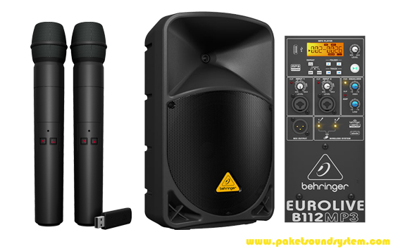 Digital Wireless Microphone System Behringer Ultralink ULM200USB