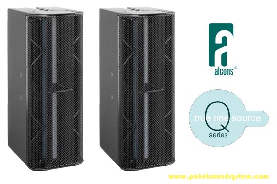 Column Speaker Array Alcons Audio QR24 Dengan Ribbon Tweeter