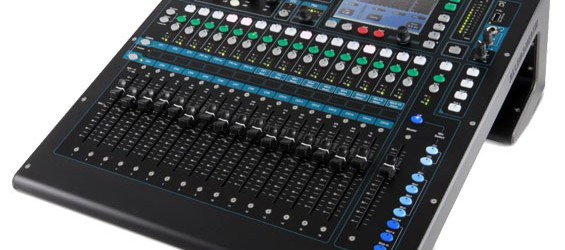 Mixer Audio Digital Allen & Heath QU-16