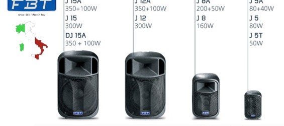 Sound System FBT Audio Seri J