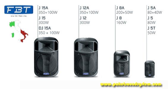 Sound System FBT Audio Seri J