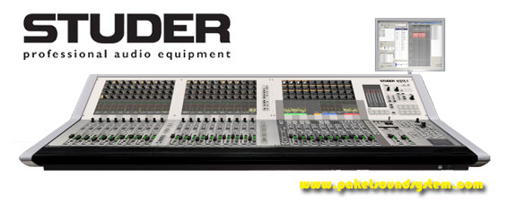 Mixer Audio All In One Studer Vista 1