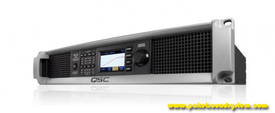 Amplifier Sound System QSC Audio Seri CXD dan PLD