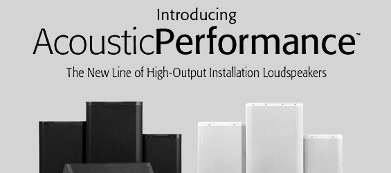 Speaker Sound System QSC Seri Acoustic Performance