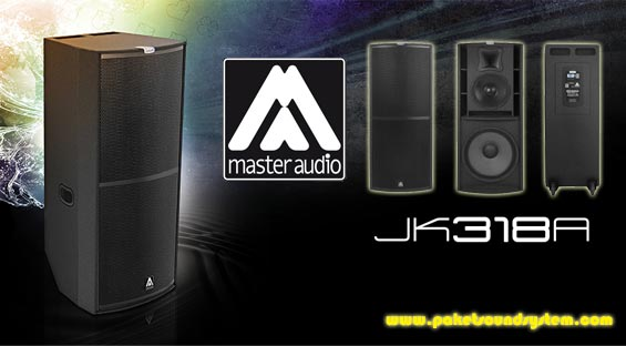 Sound System Aktif 3 Way Master Audio Joker JK318A