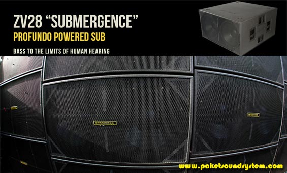 Subwoofer Aktif Bassmaxx ZV28S