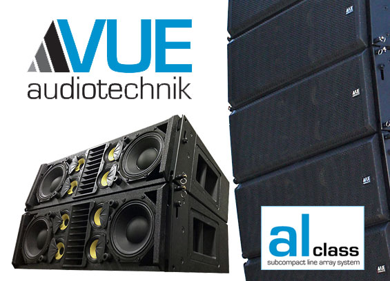 Sistem Speaker Line Array Kompak VUE Audiotechnik al-8