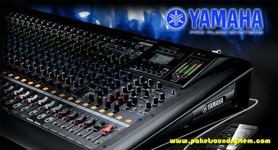 Mixer sound system yamaha mgp24x dan mgp32x paket sound for Yamaha mgp24x 24
