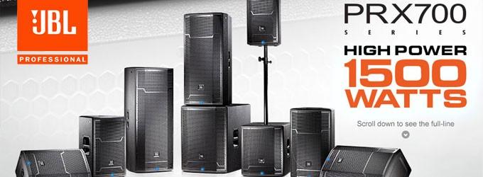 Sound System Aktif JBL Profesional Seri PRX700