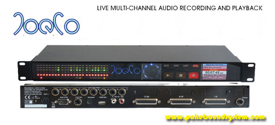 Perekam Audio Digital Multichannel JoeCo Blackbox