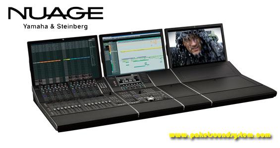 Mixer Sound System DAW Yamaha Nuage