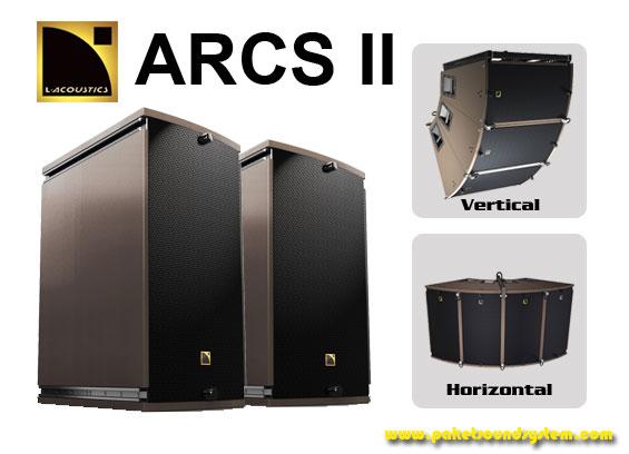 Sistem Audio Line Array L-Acoustic ARCS II