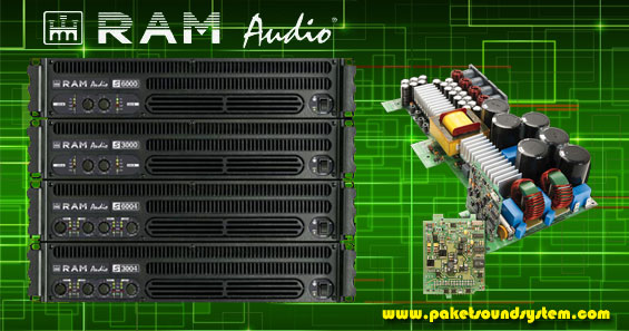 Power Amplifier RAM Audio Terbaru Seri T
