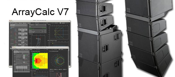 Sistem Line Array d&b Audiotechnik Seri V