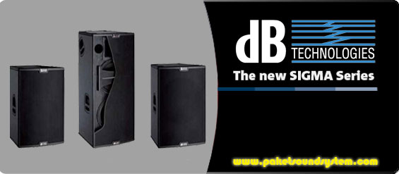 Sound System Aktif dB Technologies Seri Sigma