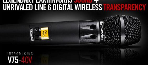 Sistem Mikrofon Wireless Digital Line 6 V75-40V