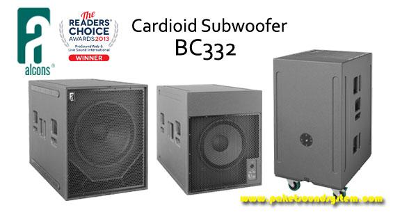 Speaker Subwoofer Cardioid Alcons Audio BC332