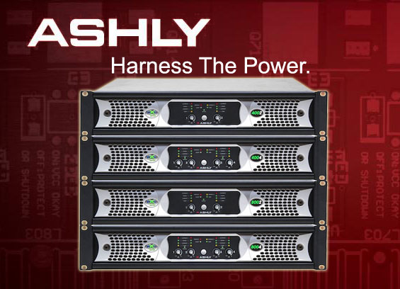 Power Amplifier Audio Ashly Seri nX