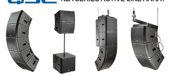 Paket Sound System Line Array Aktif QSC Seri KLA