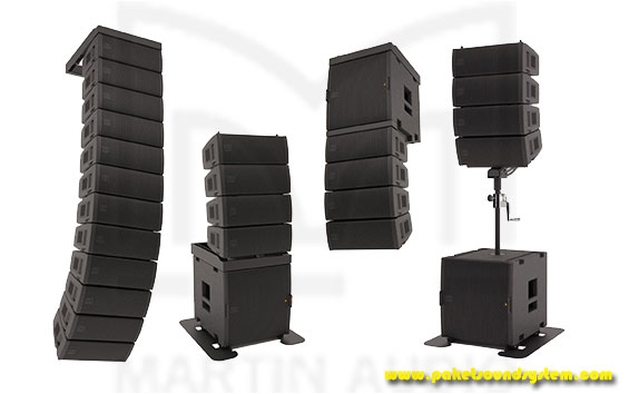 Paket Sound System Line Array Martin Audio MLA Mini