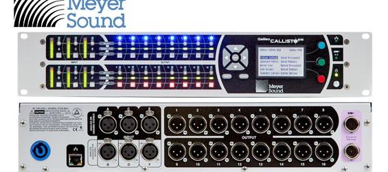 Prosesor Audio Line Array Galileo Callisto 616 Meyer Sound