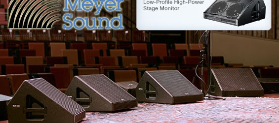 Sistem Monitor Aktif Meyer Sound MJF-210