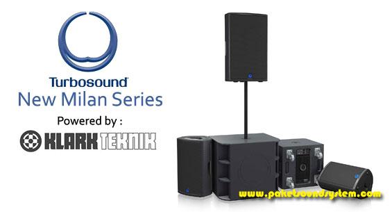 Paket Sound System Portabel Turbosound Seri Milan