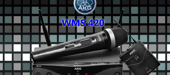 Sistem Mikrofon Wireless AKG WMS420