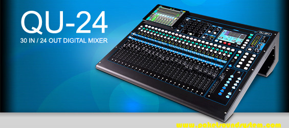Mixer Audio Digital Allen & Heath QU-24