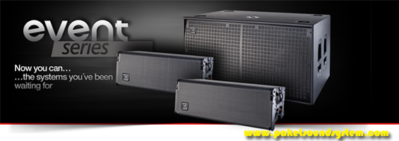 Sistem Speaker Line Array Aktif DAS Audio Seri Event