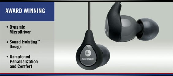Earphone Sound Isolating Terbaru SE112 Dari Shure